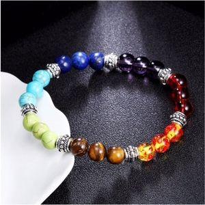 Jewelry - SOON Natural Chakra Lava Stone Diffuser Bracelet
